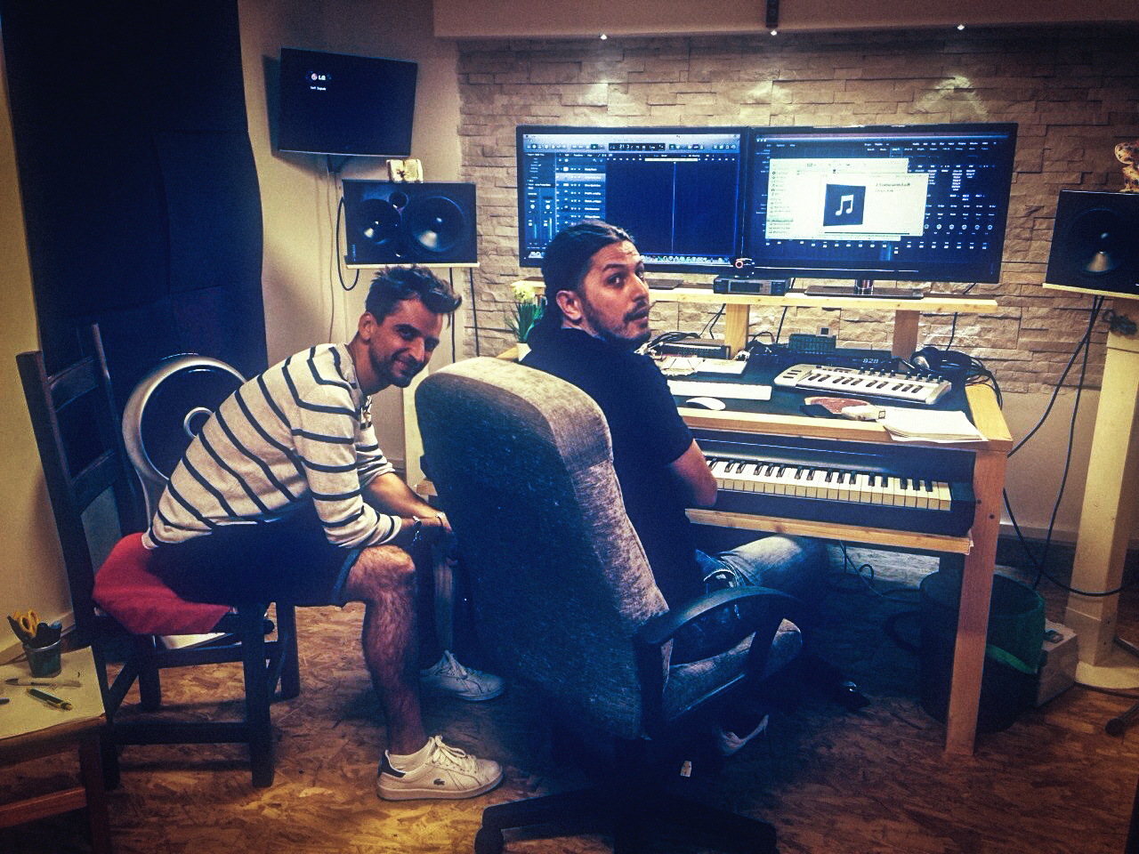 Alanas Marco Lo Russo Rouge recording studio 7 days