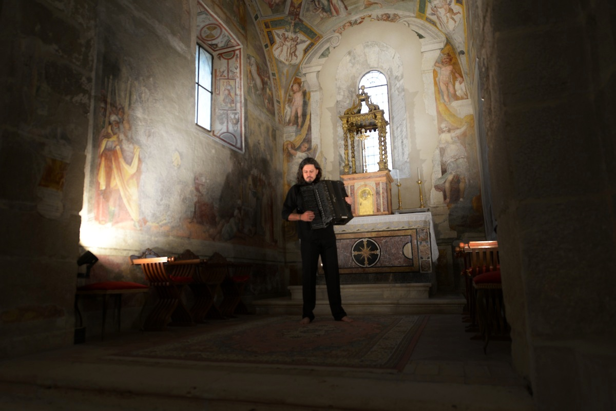 Ave Maria Marco Lo Russo abbazia valvisciolo Sermoneta