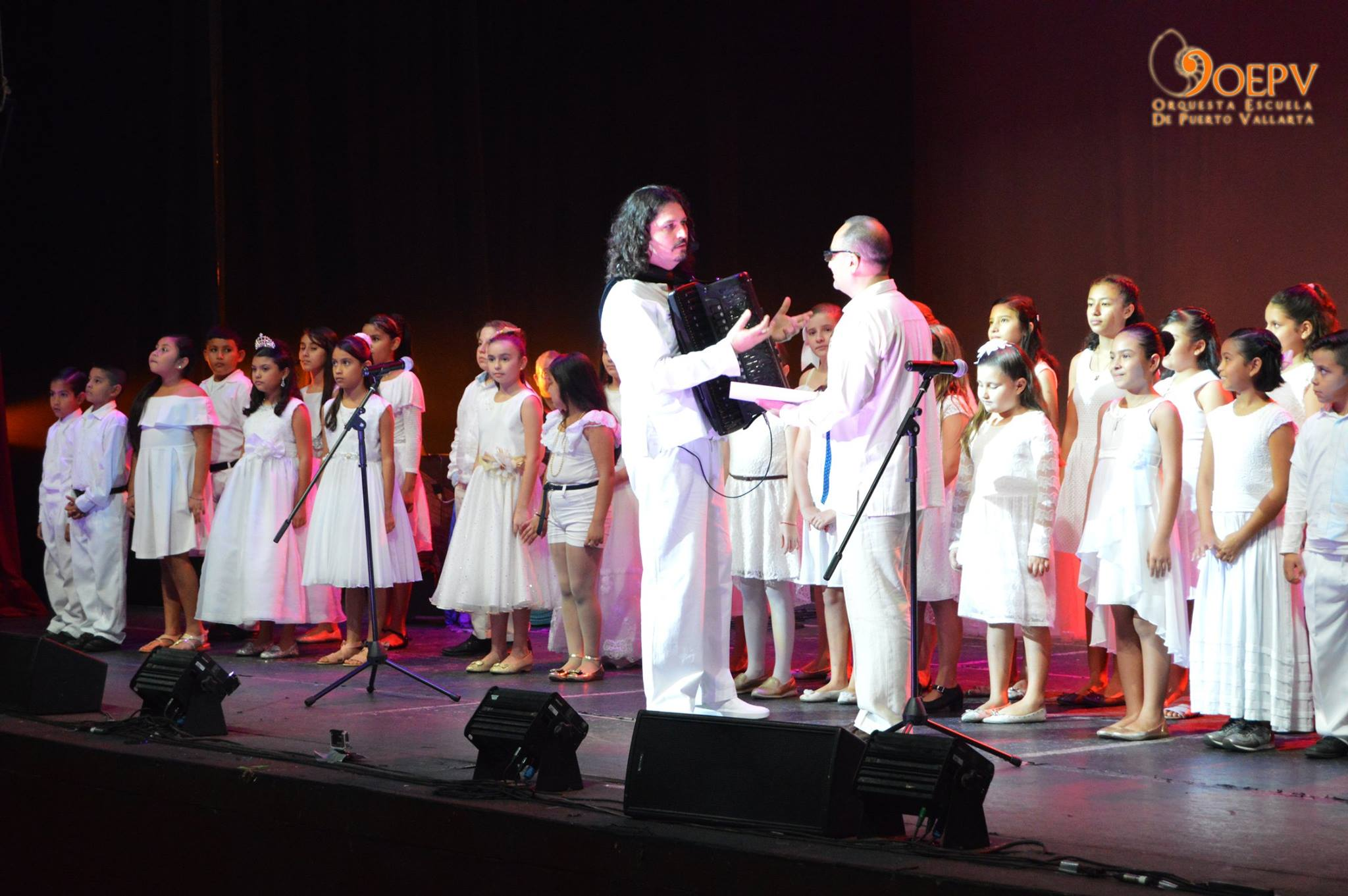 Coro OEPV Orquesta Escuela de Puerto Vallarta Marco Lo Russo Juan Pablo Félix Sánchez