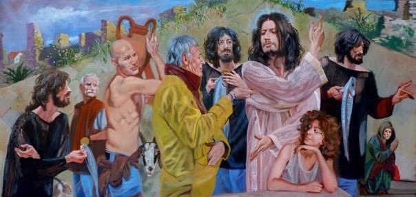 Cristo della Moneta di Adnre Durand con Marco Lo Russo
