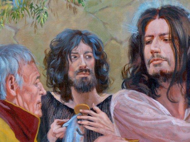 Cristo della Moneta di Andre Durand con Marco Lo Russo