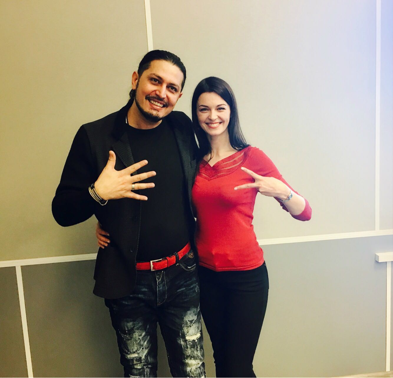 Marco Lo Russo Rouge Sound Production and Gerūta Griniūtė
