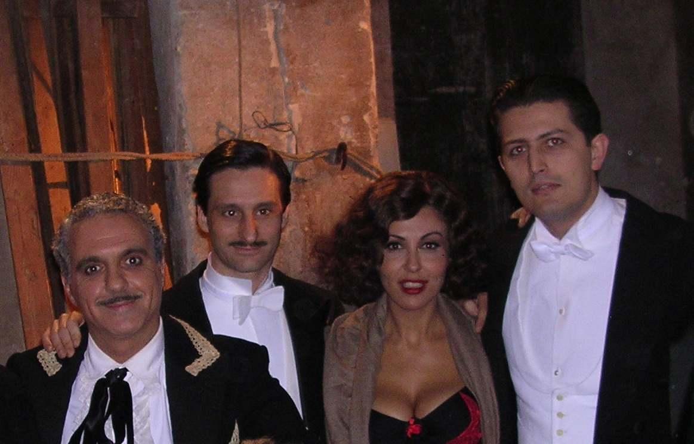 Giorgio Panariello Enrico Arias Sabrina Ferilli Marco Lo Russo film Matilde regia Luca Manfredi