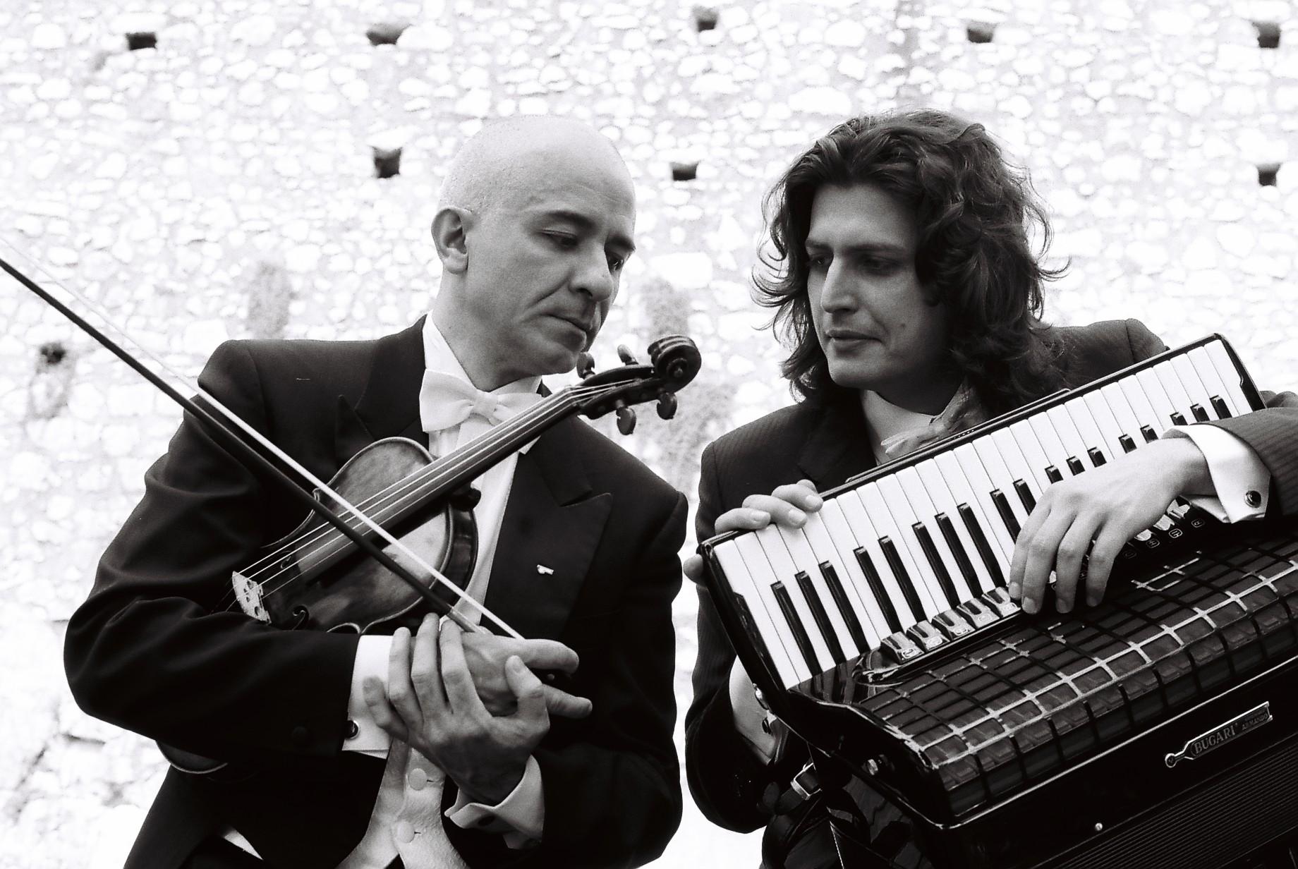 Guido Felizzi and Marco Lo Russo ph by Roberto Recanatesi