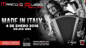 Made in Italy by Marco Lo Russo Teatro Vallarta
