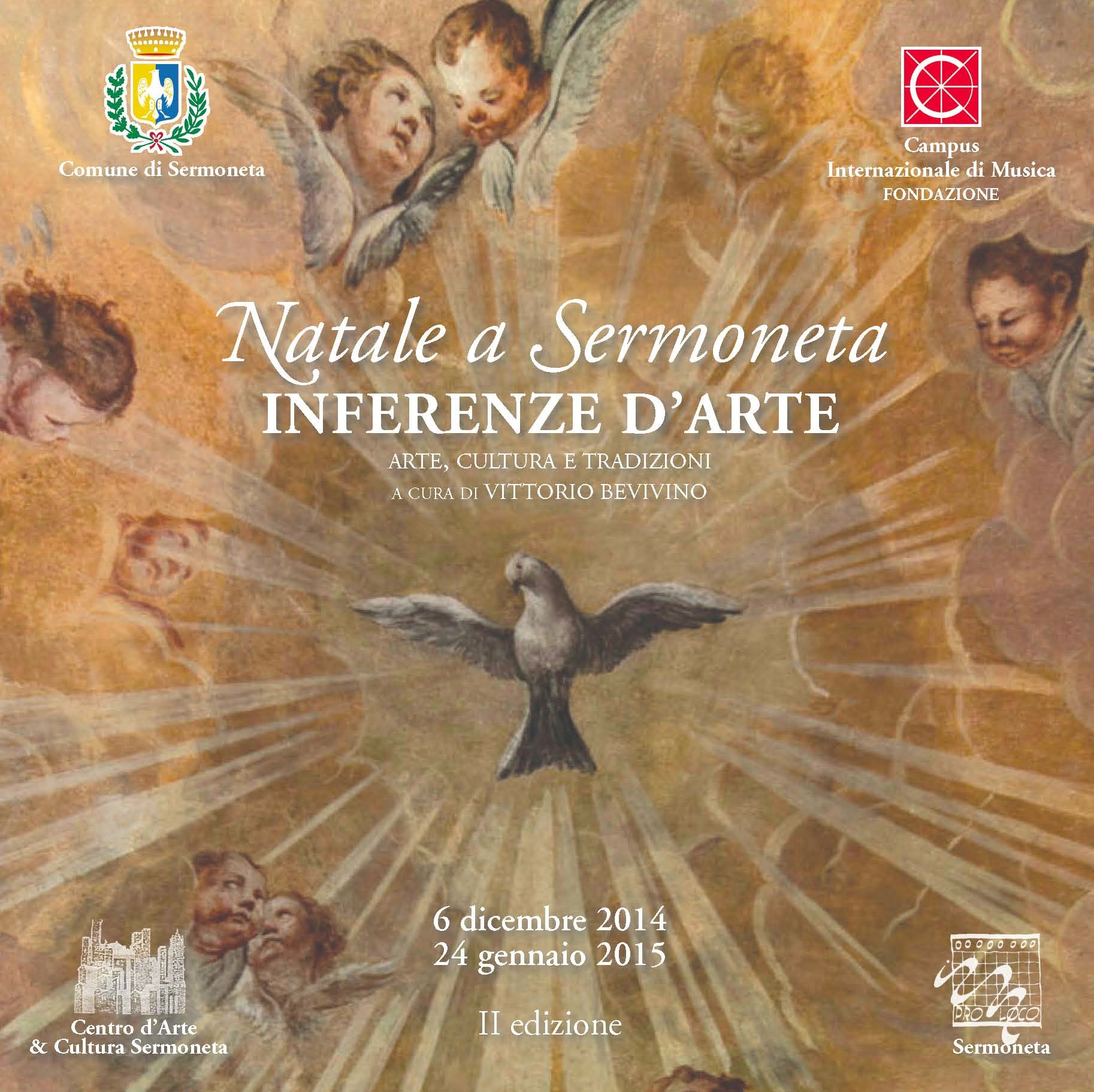Interferenze d'arte Natale a Sermoneta 2014 2015