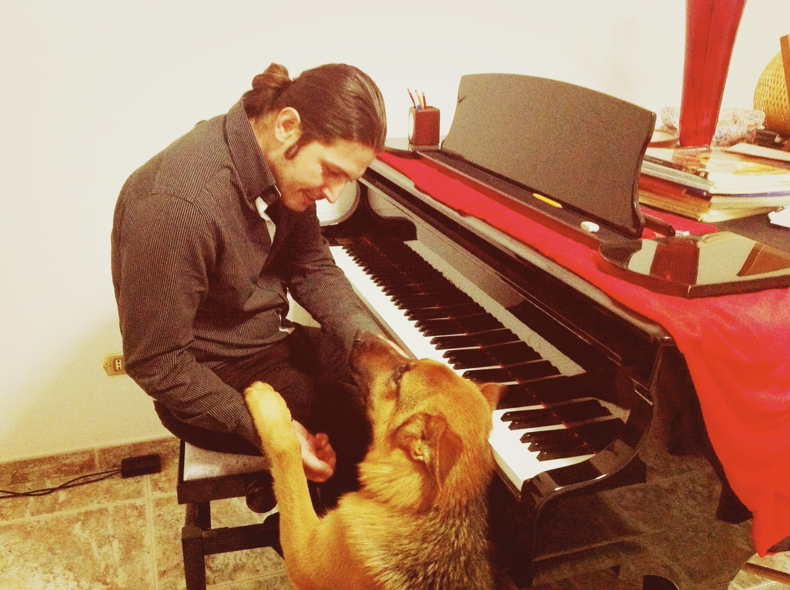 Marco Lo Russo e Leo Dog Ph by Memi Marzano