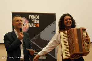 Marco Grossi and Marco Lo Russo at Fondi Film Festival ph. by Enrico Duratorre