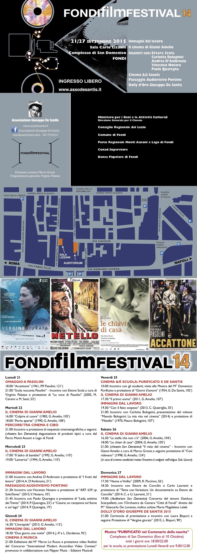 Marco Lo Russo Fondi Film Festival 2015