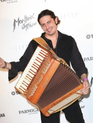 Marco Lo Russo at Jazz Foundation of America annual jazz gala