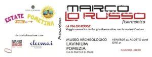 Marco Lo Russo Pomezia La Vie en Rouge