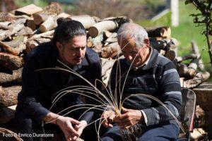 Lavorazione dei cestini Made in Lazio Priverno