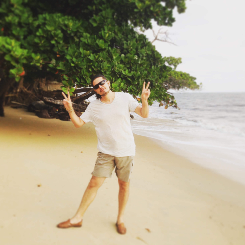 Marco Lo Russo in un momento di relax
