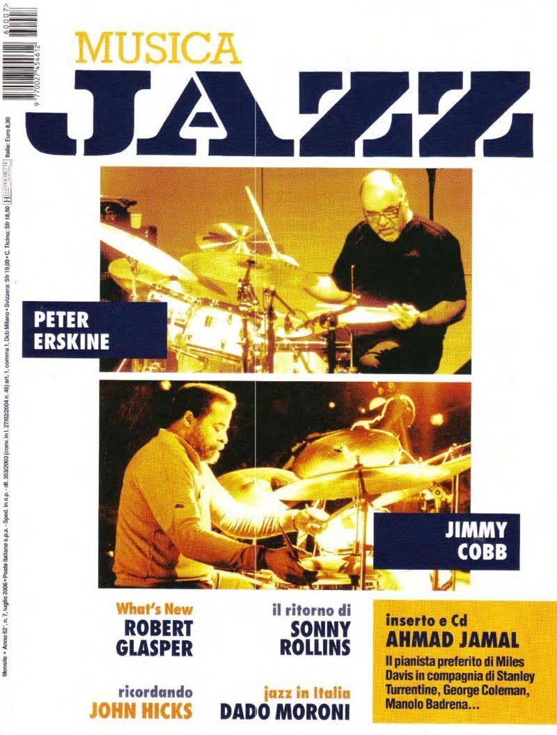 Musica Jazz July 2006 Tarabuk Marco Lo Russo with Tiziano Zanotti
