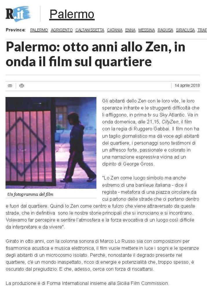 Palermo_ otto anni allo Zen, in onda il film sul quartiere - Repubblica