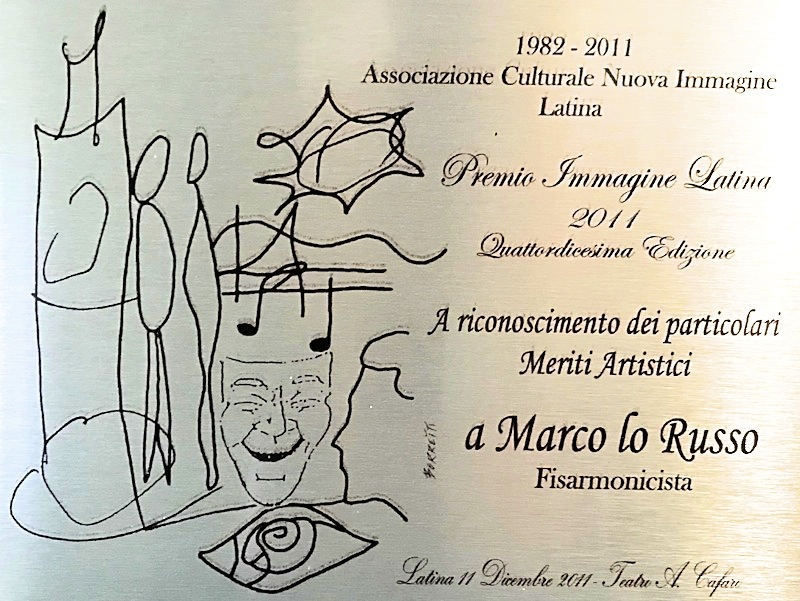 Premio Immagine Latina Marco Lo Russo