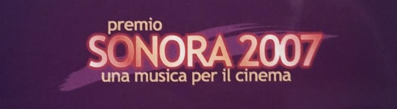 Premio Sonora una musica per il cinema