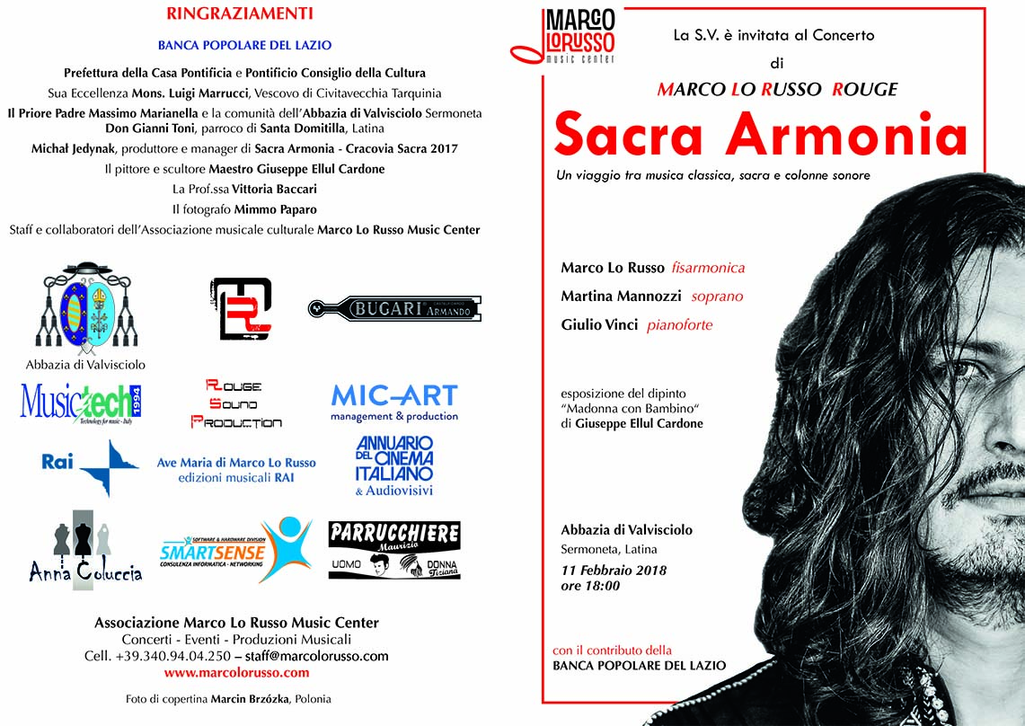 Sacra Armonia Marco Lo Russo invito
