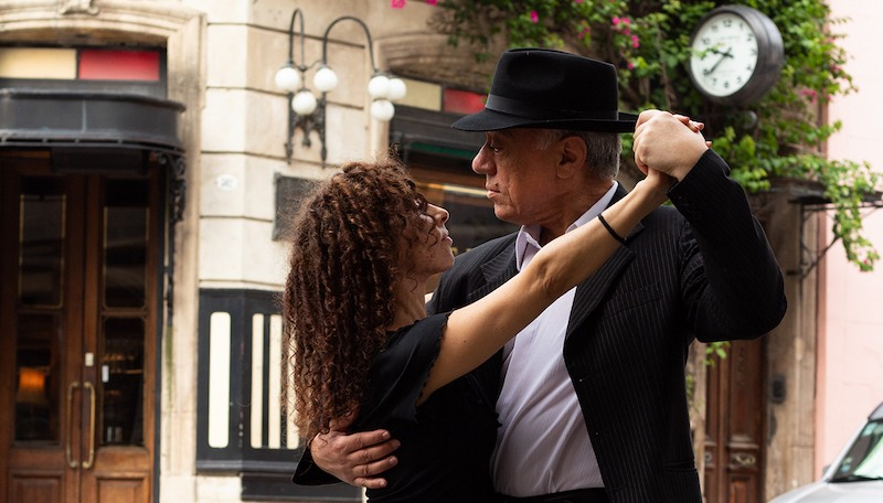 Silverio Valeriani Veleria del Valle tango