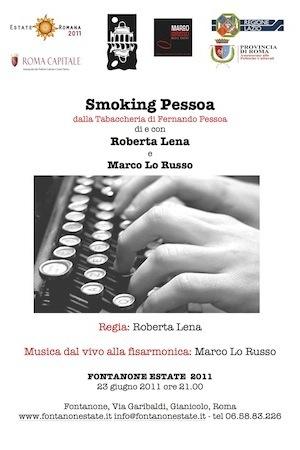 Smoking Pessoa Roberta Lena e Marco Lo Russo