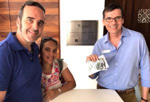 Paolo Uccelli, Silvia Basurto con il responsabile della OEPV di Puerto Vallarta