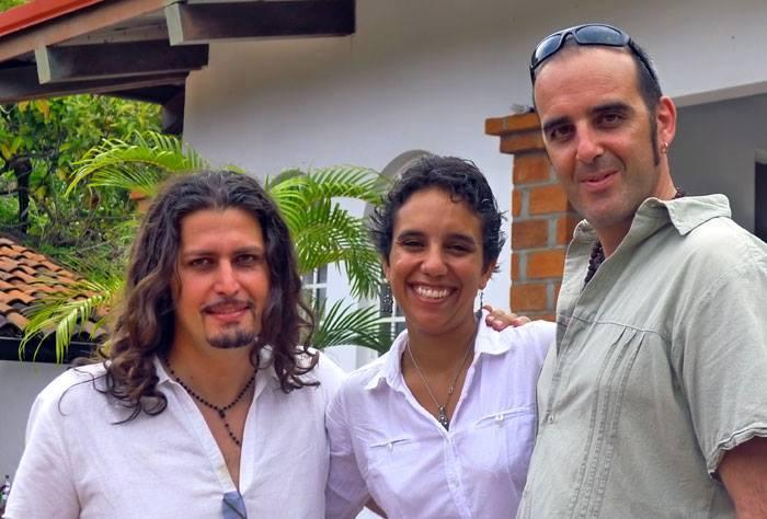 Marco Lo Russo with Duo La Boquita Silvia Basurto and Paolo Uccelli Mexico July 2013